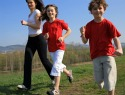 The benefits of exercising as a family
