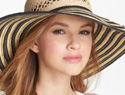Trendy summer hats