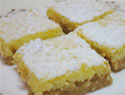 Tasty lemon squares