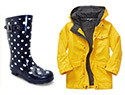 Ultra-cute rain gear to keep kids dry
