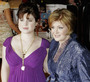 Sharon Osborne and Kelly Osborne