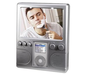 Shower radio & MP3 player