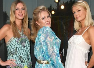 Kathy, Nicky and Paris Hilton