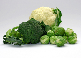 Cabbage and other cruciferous vegetables
