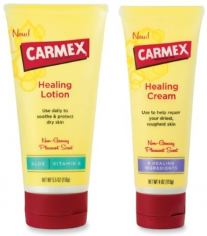 Carmex® Healing Lotion and Healing Cream