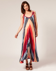 Colorful maxi dresses