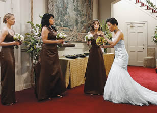 Burke leaves Cristina at the altar