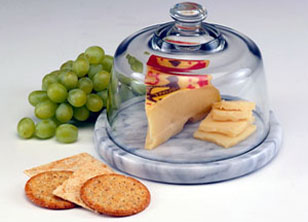 Cheese Dome and Board