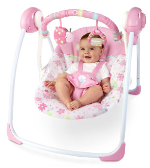 Blossomy Blooms Portable Swing