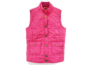 Tory Burch Limited-Edition Pink Puffer Vest