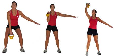 kettlebell workout 3 killer kettlebell exercises