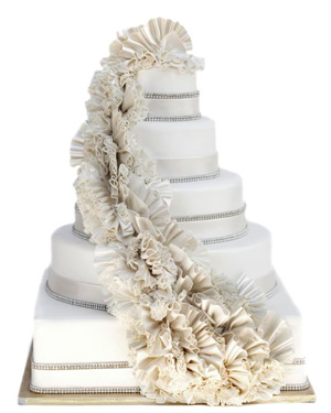 Palmero wedding cake
