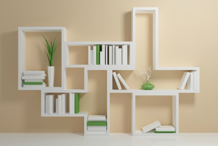 Knihovny ikea