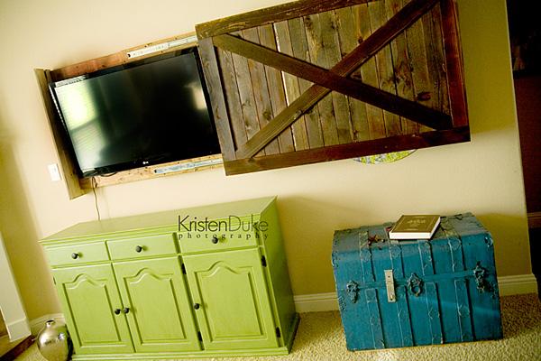 tv stand barn doors 5 Creative Ways to Display Your TV 5