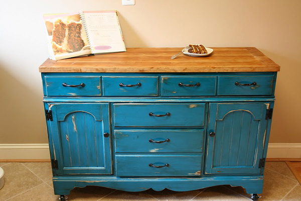 turn old dresser into kitchen island dresser made into kitchen island 9496