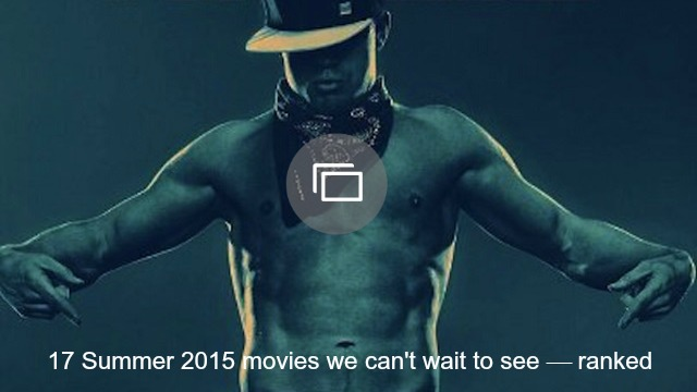 summer movies 2015 slideshow