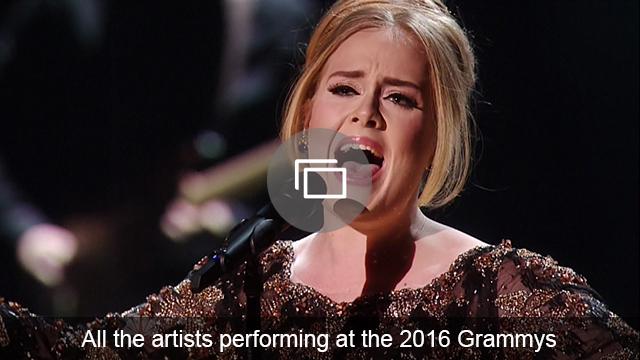 grammys 2016 performers slideshow