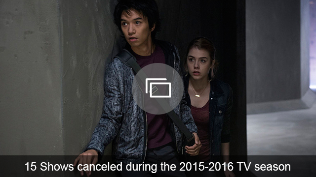 canceled TV shows 2016 slideshow