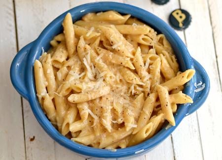 Beer macaroni and cheese