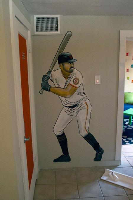 David's Room Mural