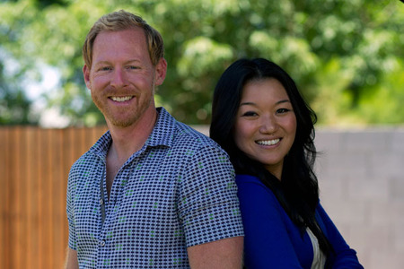 Designers Jany Lee and Ryan Johnson