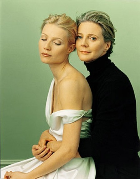 Blythe Danner and Gwyneth Paltrow