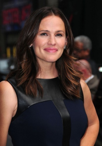 Jennifer Garner visits Letterman