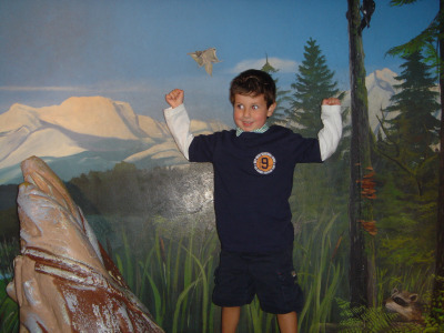 Julien (5 years old) at Seattle Aquarium