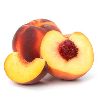 Peach and pepper kabobs