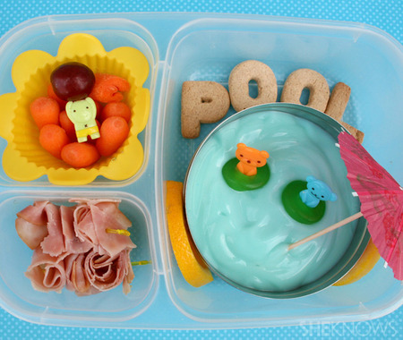 Summer Pool Party bento box lunch
