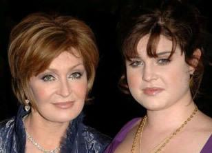 Sharon and Kelly Osborne