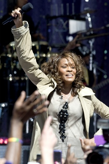 Whitney Houston on Good Morning America