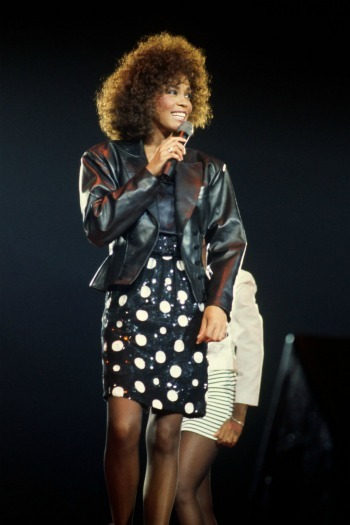 Whitney Houston performs at Wembley Arena