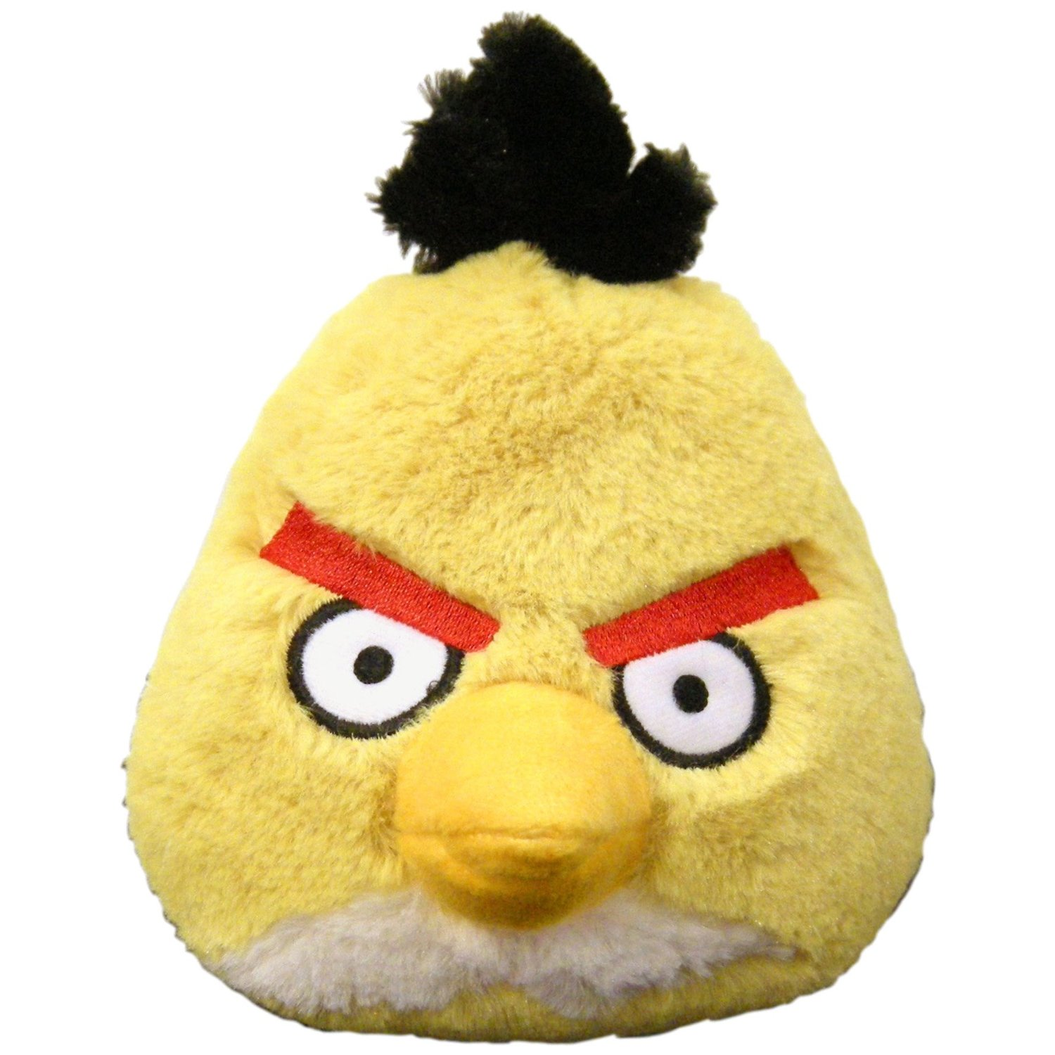 Angry Birds Stuffed Toys : Angry birds quot plush yellow bird with sound gift ideas
