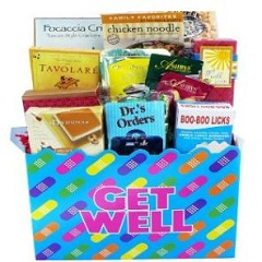 Get Well Soon Band Aid Care Package Gift Box Gift Ideas