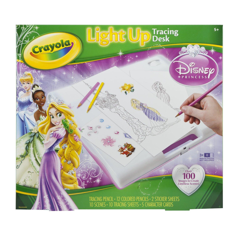Crayola Princess Light Up Tracing Desk Gift Ideas