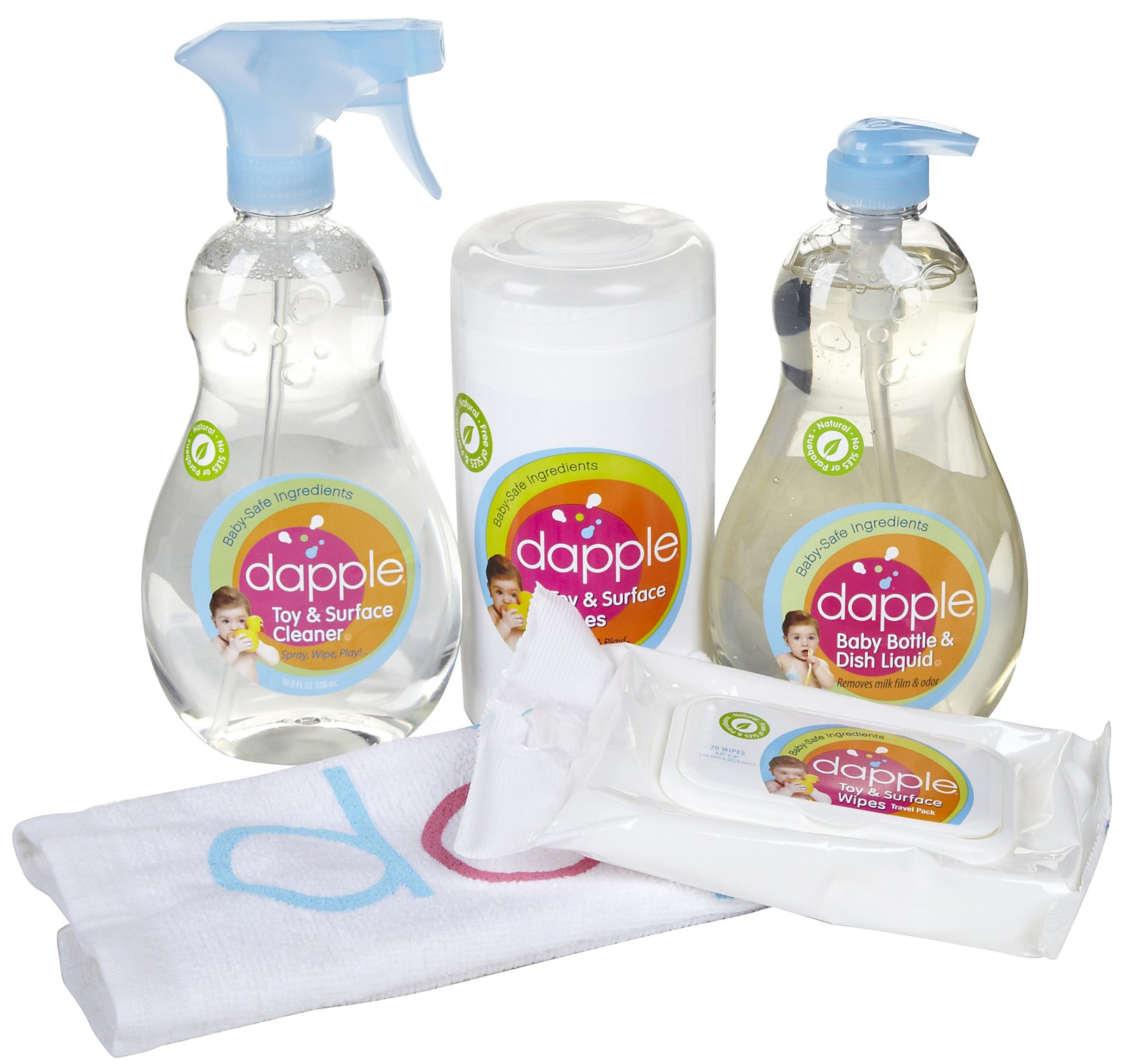 Dapple Baby Cleanup Kit Gift Ideas