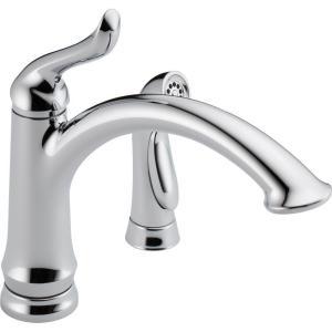 Delta Linden DST Single-Handle Side Sprayer Kitchen Faucet - Gift ...
