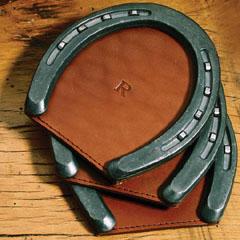 Col Littleton Horseshoe Coasters Gift Ideas