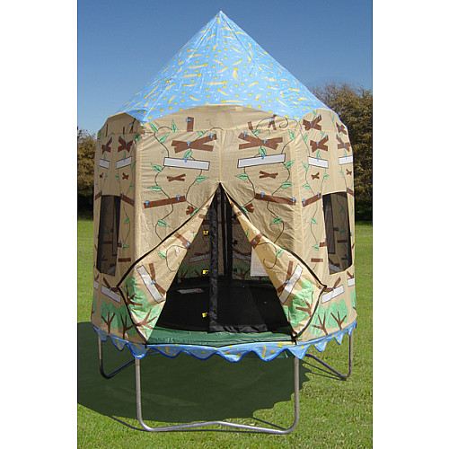 Jumpking JumpPOD Trampoline Tree House Enclosure Cover ...