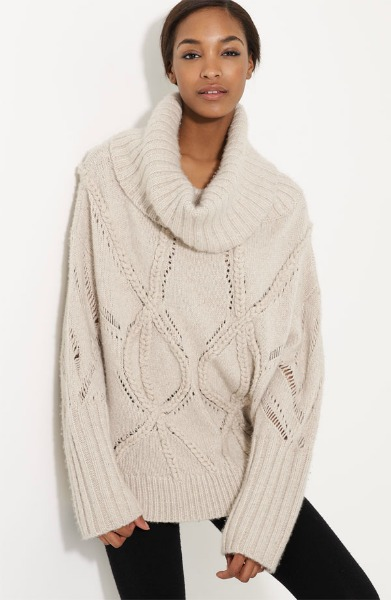 Cable Knit Cashmere Sweater - Gift Ideas