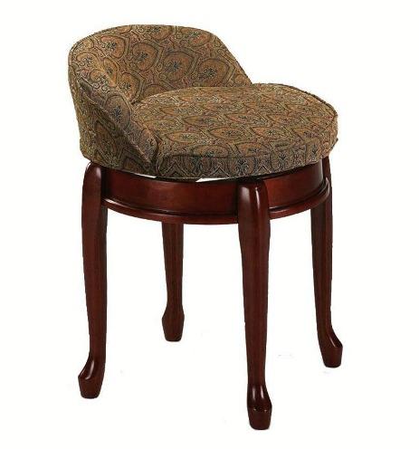 Low back swivel vanity stool gift ideas - Bedroom vanity chair with back ...