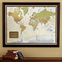 Personalized World Travel Map Gift Ideas