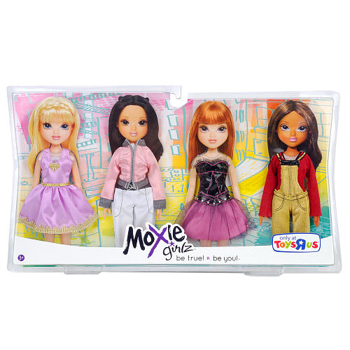 Moxie Girlz Doll Fashion Outfits 4-Pack - Dresses, Pant ...