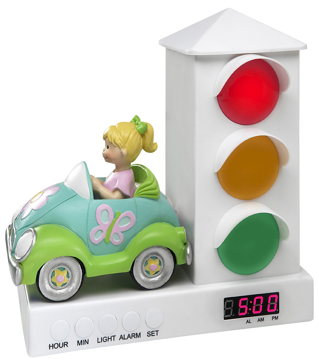 The Stoplight Alarm Clock Car Alarm Clock   Girl