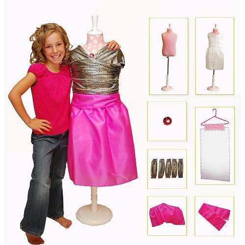 Shailie Starter - Fashion Designer Dress Form Starter Kit - Gift Ideas