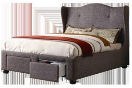 Tweed bed
