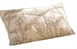 Embroidered Organic Quilt and Sham