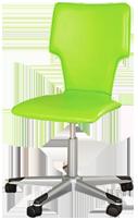 Green desk chair