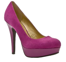 Hot pink pumps